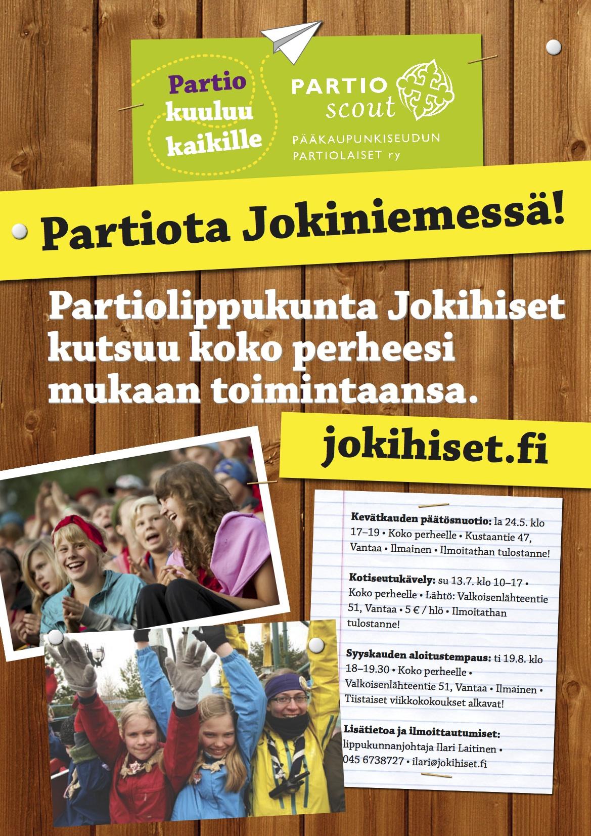 Partiota Jokiniemessä!